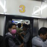 Suasana Commuterline Malam